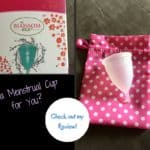 Menstrual cup with a low cervix