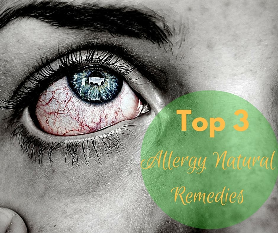 3 Ways to Stop Allergies Naturally