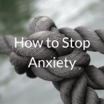 How to Stop Anxiety and depression