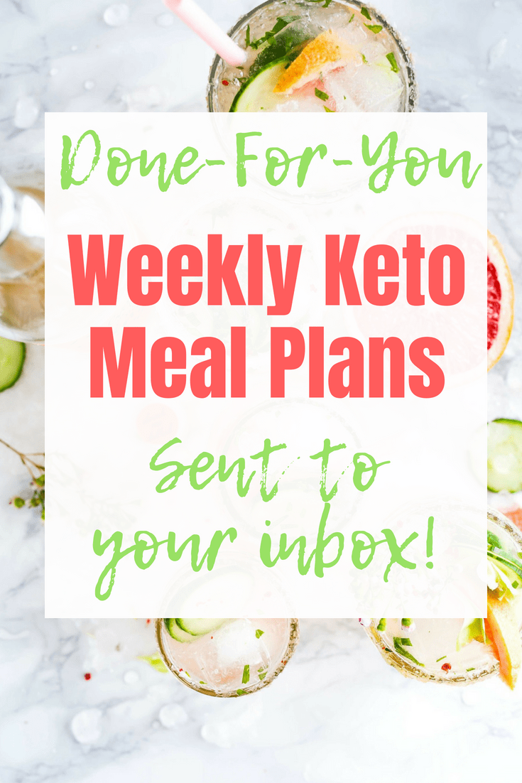 Do you need a simple low carb meal plan? Take the guesswork out of eating keto and get done for you recipes and grocery lists delivered right to your inbox. #keto #mealplan #ketorecipes #recipes #weeklymeals