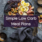 simple low carb meal plan