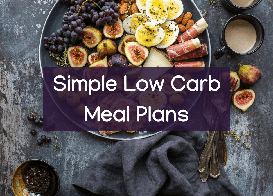 Simple Low Carb Meal Plan for Gut Health