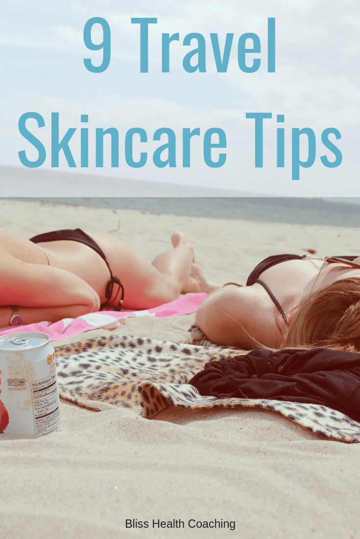 If you are traveling you need to know how to take care of your skin. A skin expert has shared her best travel skin care tips with us so we can keep our skin looking fresh and healthy. #skincare #traveling #skin #healthyskin