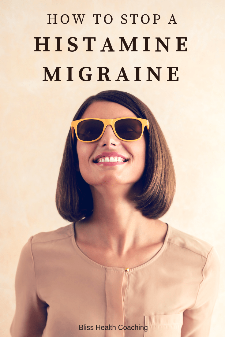 If your struggling with migraine headaches, it could be caused by high histamine. Find out what histamine migraines are and what you can do to get relief from head pain. #histamine #migraine #histamineintolerance #headache #migrainehacks #headpain