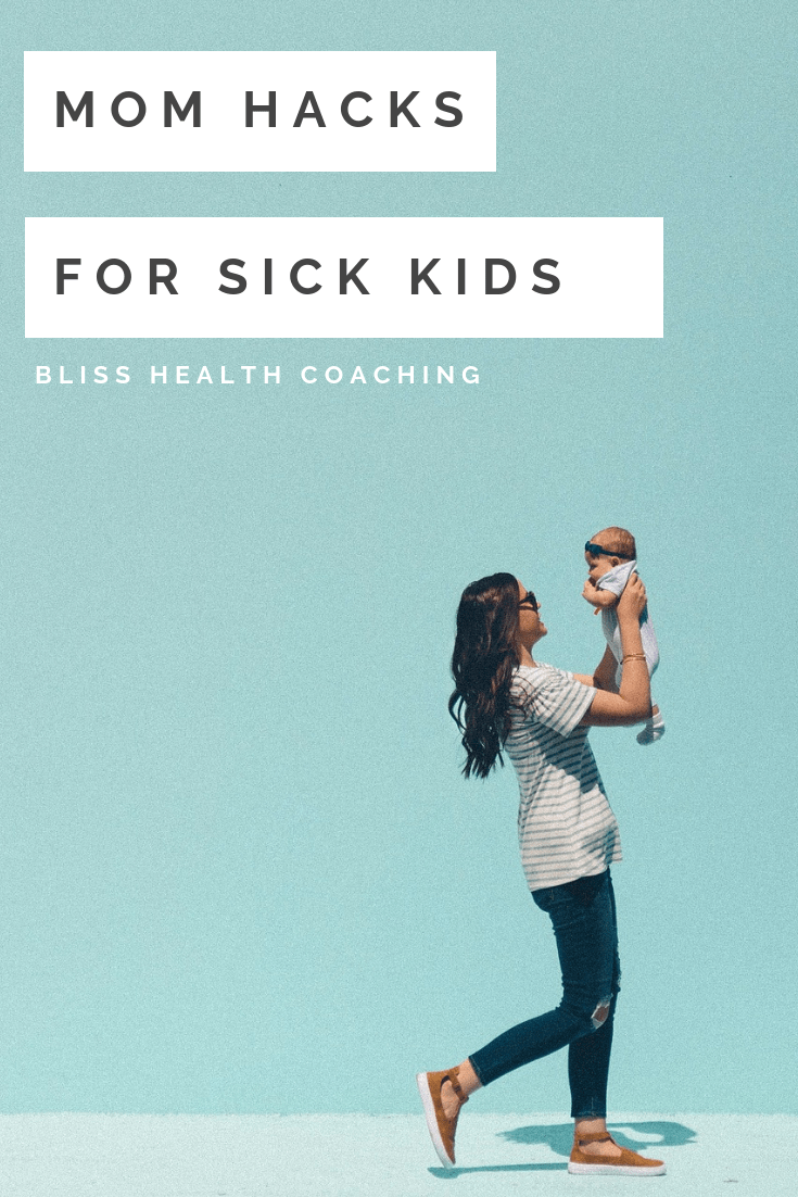 When your kids are sick, all you want to do is make it better for them. Learn how to stop coughing, stuffy noses, get better sleep and care for your kids while they are sick. #sickkids #coughing #homeremedies #sleep #flu #cold #viruses #sickness #hacks #momhacks #naturalremedies