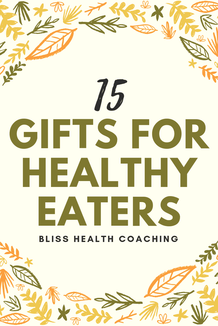Do you need gift ideas for healthy families? Find out what gifts any healthy eater would love to receive and you may find a few gift ideas for yourself. #giftideas #healthylifestyle