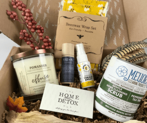 living toxic-free with the home detox box