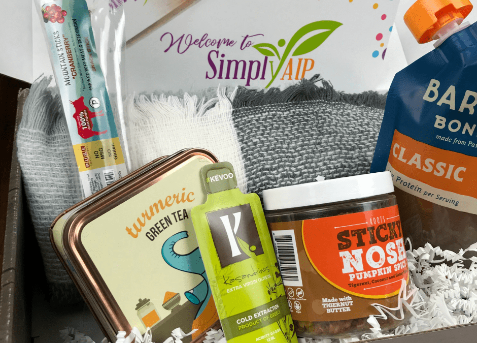 SimplyAIP Subscription Box for Autoimmune Disease
