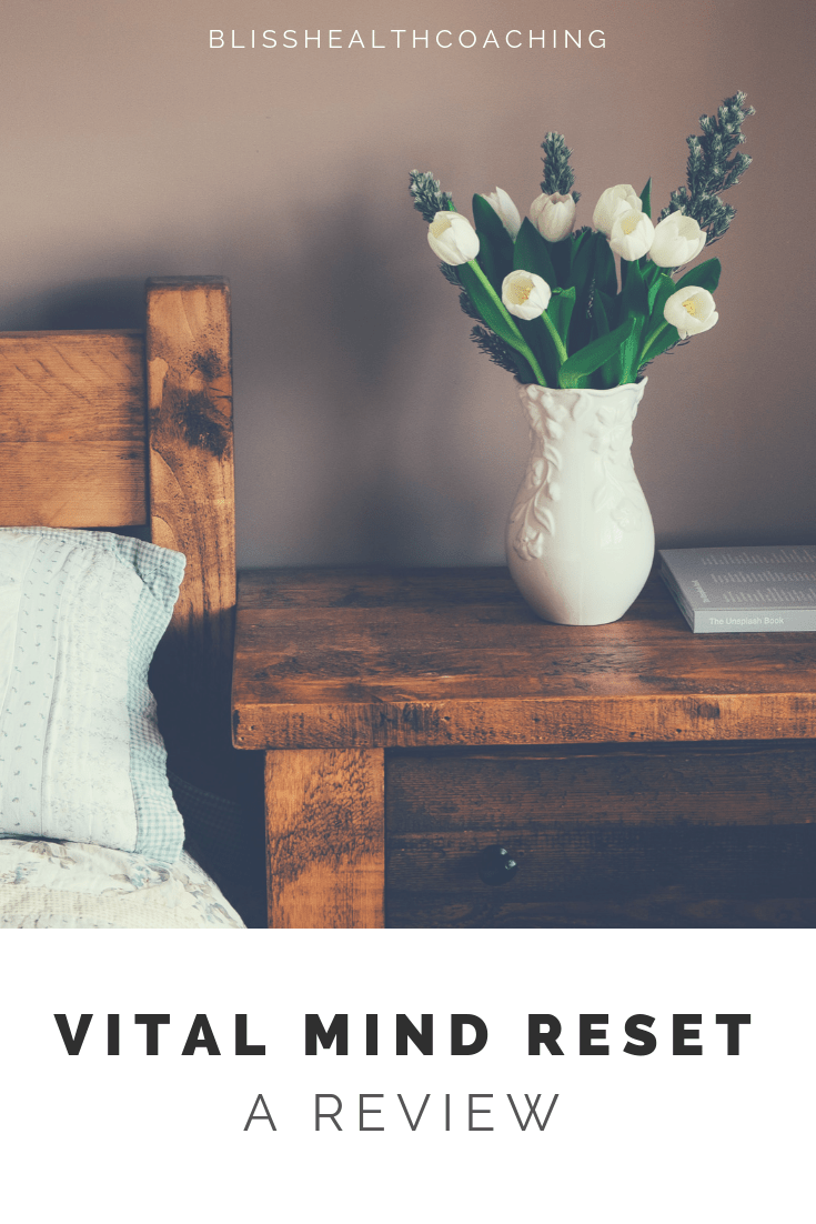 Vital Mind Reset is THE program for treating anxiety, depression, panic attacks, and disease. This holistic program is designed to give you the tools to heal naturally and get your happy back. #anxiety #vitalmindreset